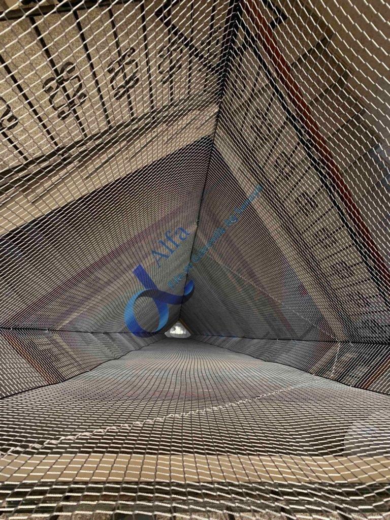 Bina içi Merdiven Filesi Ağı
