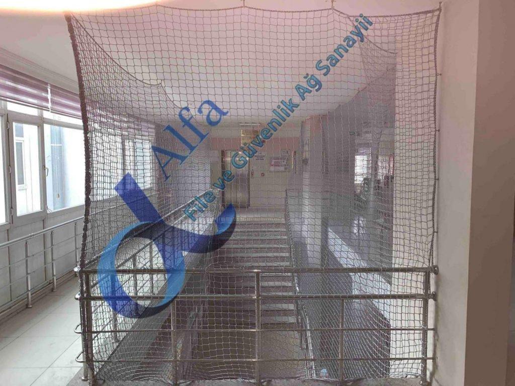 merdiven güvenlik filesi ağı