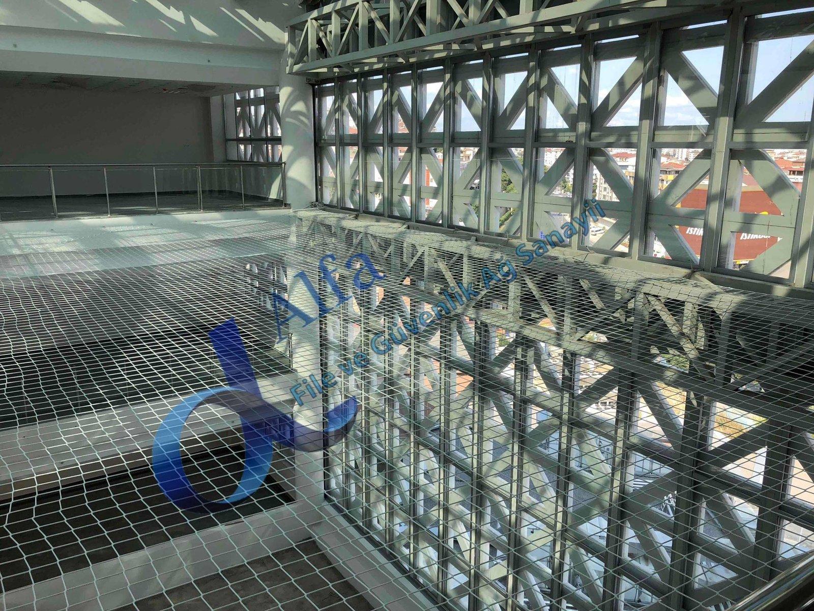 galeri güvenlik ağı